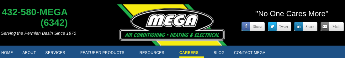 MEGA Air Conditioning, Heating & Electrical